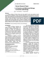 Molecular Biologkm mly Paper Assignment.
