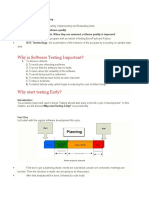 Definitions of Software Testing