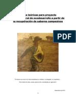 Bases Teóricas Para Proyecto Permacultural de Ecodesarrollo