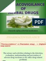 Herbal Pharmacovigilance Ppt - Copy