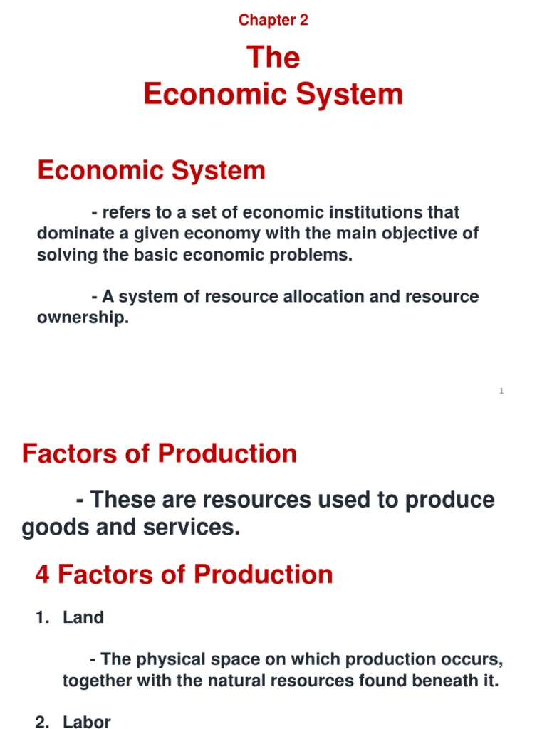 The main problems of the economy and their solutions 50
