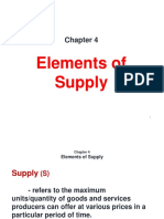 Chapter 4 - Elements of Supply