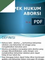 Dr.suci-Aspek Hukum Aborsi