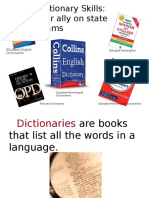 How to Use a Dictionary Powerpoint
