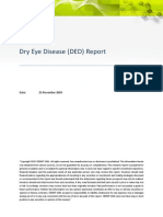 Dry Eye Disease Report - CBDMT