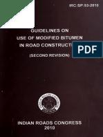 IRC SP 53-2010 Official Copy
