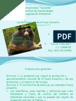 Ley de Fauna Silvestre