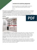 Como Planejar Os Móveis de Cozinhas Pequenas _ Guia Do GetNinjas