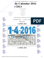 April - Daily - 2016