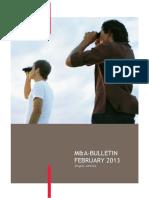 M and a Bulletin BDO 02 2013