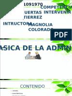 CAP 4 TEORIA CLASICA DE LA ADMINISTRACIÓN