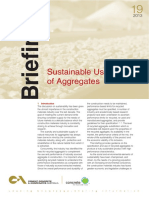 Briefing19 Sustainable Use of Aggregates (1)