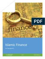 Islamic Finance & Risk Management