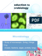 Introduction to Microbiology UNTAN