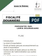 Fiscalité Douanière