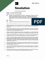 UND Student ROTC Resolution