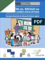 gestion del riesgo en instituciones educativas peru