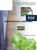 Hidroponia en El Area Rural, 2003