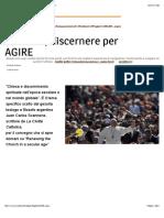 Avvenire. Credenti, discernere per agire | Cultura | www.avvenire