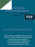 AVALIAÇÃO ANTROPOMÉTRICA 1.ppt
