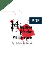 14 Battles for the White Race