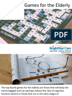 Top Board Games for the Elderly