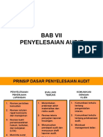 Bab 7 Penyelesaian Audit (1)