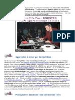 2 Facteurs DÉCISIFS Pour Apprendre à Mixer DURABLEMENT :