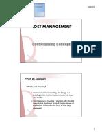 Cost Planning Rics