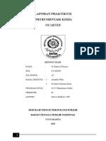 Laporan Praktikum Ph Meter (Selesai)