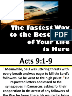 The Fastest Way to the Best Days of Your Life - Rev. Esther 12062015