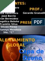 Calentamiento Global y Capa de Ozono