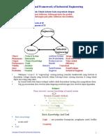 1 Conceptual Framework of Industrial Engineering Handout