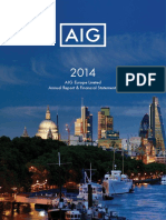 Aig Report and Accounts 2014