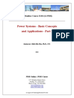 Power Systems - Basic Concepts