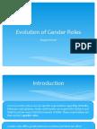 Evolution of Gender Roles