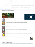 Reparar Desperfectos en Suelos de Concreto
