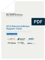 20140403 Telecom Software Supplier Guide