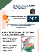 Contexto Agrario Nacional