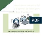Reglamento Sala de Sistema IETISD 2015 Grado7