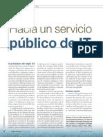 Hacia Un Servicio Público de IT