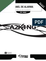 Manual Instalador Alonso A2K4 NG