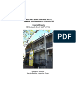 EXAMPLE Building Inspection Report