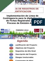 presentación_Implementacion de Linea alterna de digitalizacion
