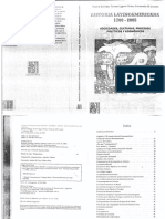 Historia Latinoamericana 1700 2005