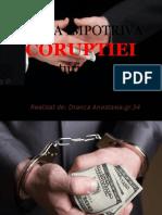 LUPTA IMPOTRIVA CORUPTIEI