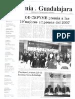 Periódico Economía de Guadalajara #07 Noviembre 2007