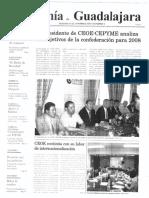 Periódico Economía de Guadalajara #09 Enero 2008