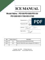 ACER xd1170d manual