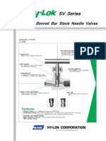 PRODUvCTS-VALVES-NEEDLE-5-2. SV Series Integral Bonnet Bar Stock Needle Valves